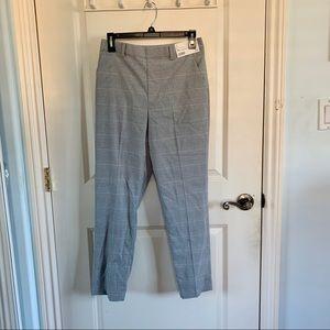 (NWT) Uniqlo   Ezy Ankle Length Grey Plaid Pants